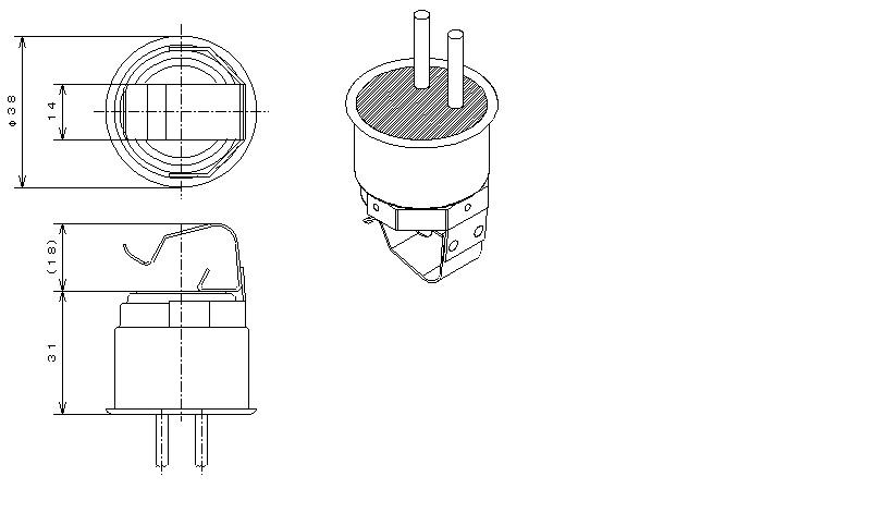 Type04 Water Proof|バイメタルサーモスタットの日本GT株式会社