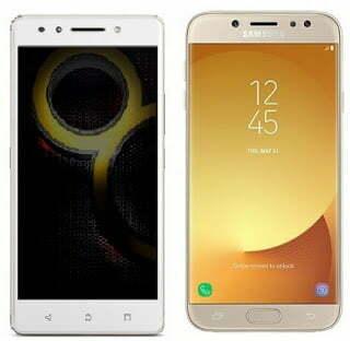 Compare Lenovo K8 Note & Samsung Galaxy J7 Pro
