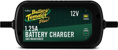 Battery Tender Plus Charger and Maintainer: Automatic 12V Powersports Battery Charger and Maintainer for Motorcycle, ATVs,
