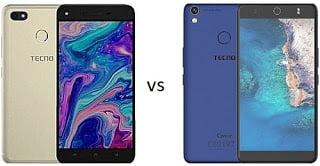 Compare Tecno Spark K9 Plus and Tecno Camon CX