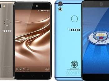 Tecno Phantom 8 vs Tecno Camon CX Man City Edition