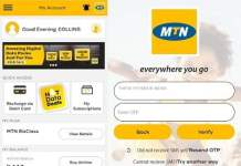 mtn self-care app and my app mobile app for android phone and iphone