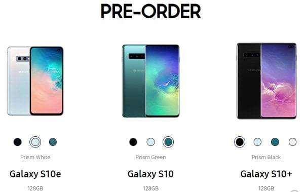 Samsung Galaxy S10 prices and where to buy in Nigeria