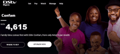 DStv confam channels lis