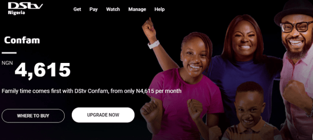 DStv confam channels list and subscription price in 2021