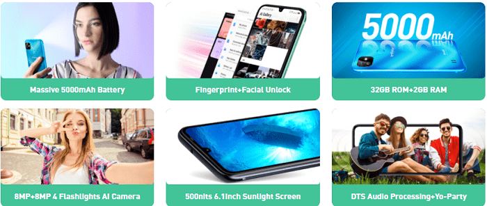 Infinix Smart HD Full specificaions