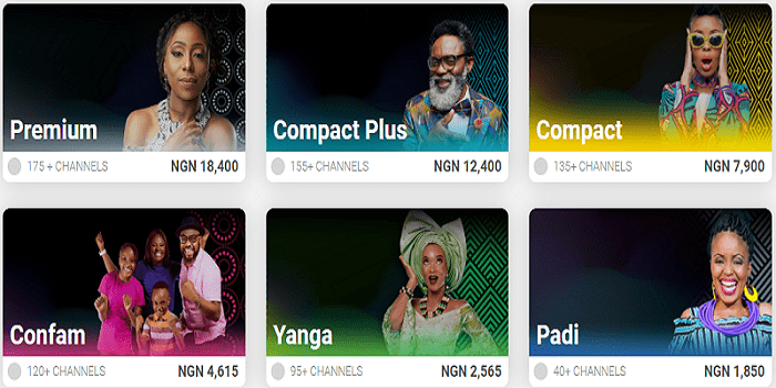 DSTV Yanga Channels