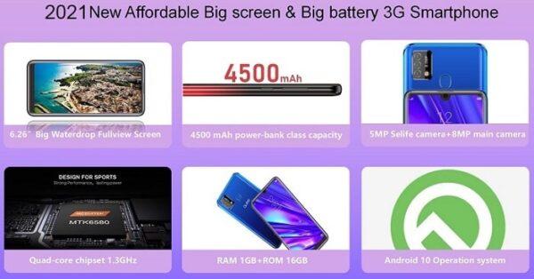 Qubo Big 1 smartphone price and specs