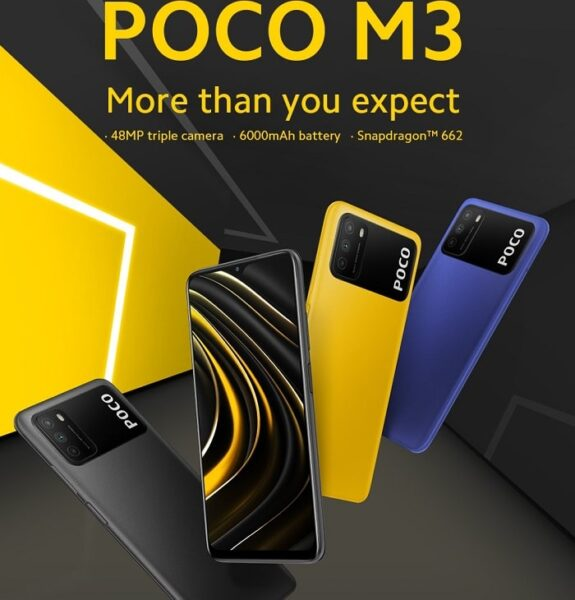 Xiaomi Poco M3 smartphone features and price in Nigeria