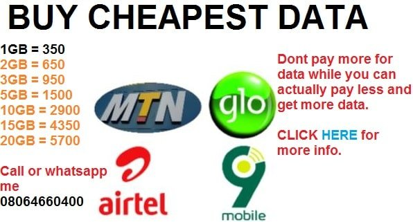 Cheapest data on MTN, cheapest data on Airtel, 20121 sme data plans and subscription