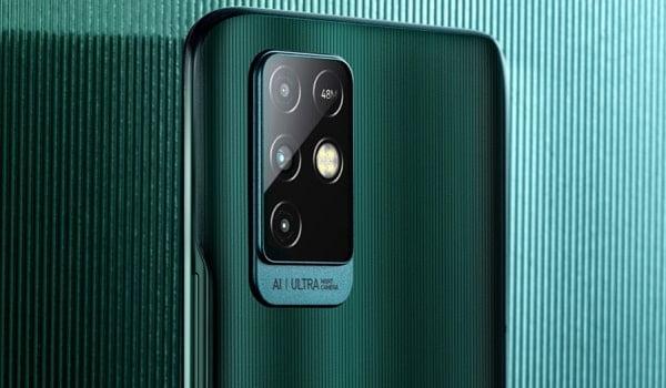 Infinix Note 10  is powerful triple rear cameras