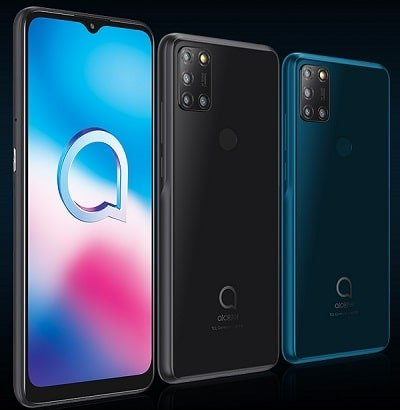 Alcatel 3x color designs and features