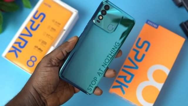 Tecno Spark 8 price in Nigeria