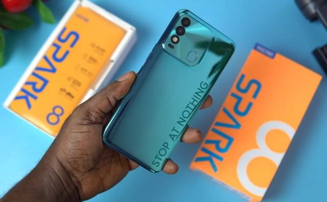 Tecno Spark 8 specs and price in Nigeria