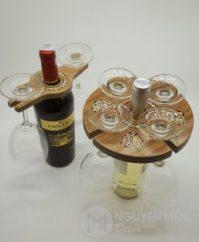 Art Wine Glass Holder - Unique Decorative Wine Bottle Holder