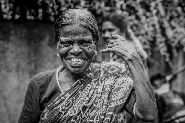 Happiness is timeless and comes across social and economic divisions. This elderly lady enjoyed me taking photos of her so much that she just laughed and smiled the whole time.