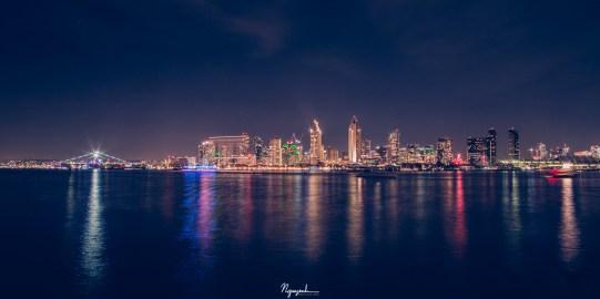 San Diego Festival of Lights in San Diego Bay