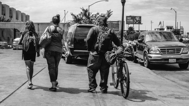 Homeless people of San Diego