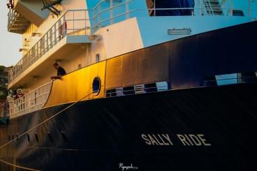 On the R/V Sally Ride