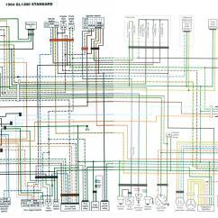 Honda Goldwing 1800 Radio Wiring Diagram 6 Way Square Trailer Schematic 2008 Online 1976