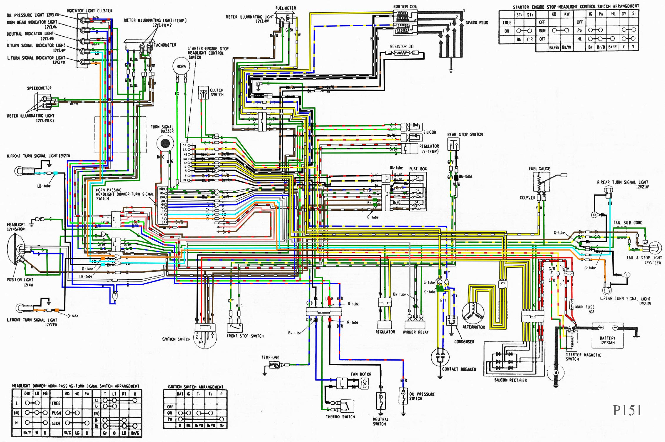 2004 Goldwing Wiring Diagram   Wiring Library