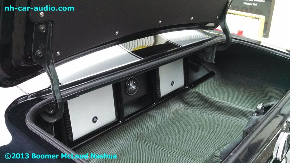 medium resolution of 67 camaro powder coated floating custom stereo installation