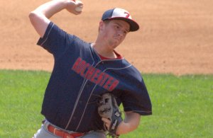 Josh Gagne threw a three-hitter to help Rochester Post 7 to a win at the Northeast Regional Tournament.