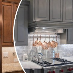 Custom Kitchen Cabinets Richmond Va Appliance Suite Basic Cabinet Renewal N Hance Of Color Finishes