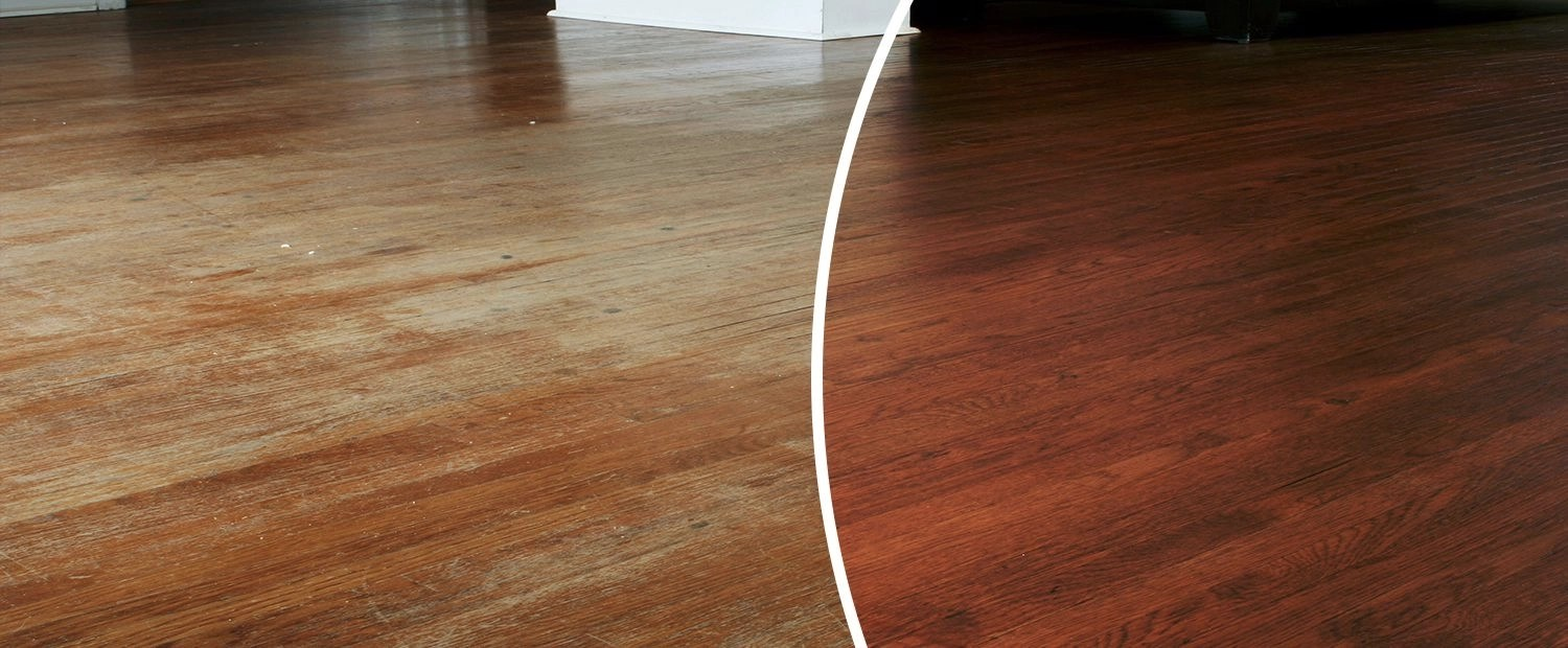 Hammered Floor Refinishing  NHance of Silicon Valley