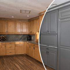 Kitchen Cabinet Reface Sink Drain Installation Refacing Service N Hance