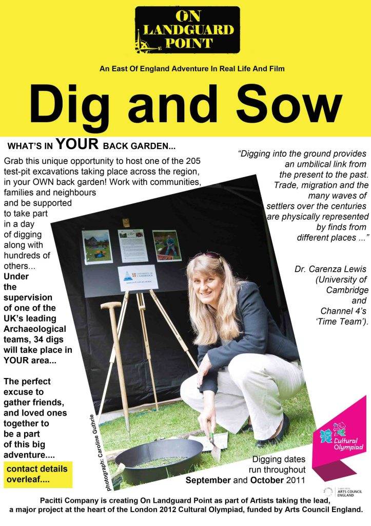 Dig and Sow flier
