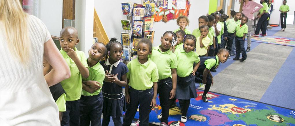 Kindergarten  2nd Grade  Detroit MI  Detroit Enterprise
