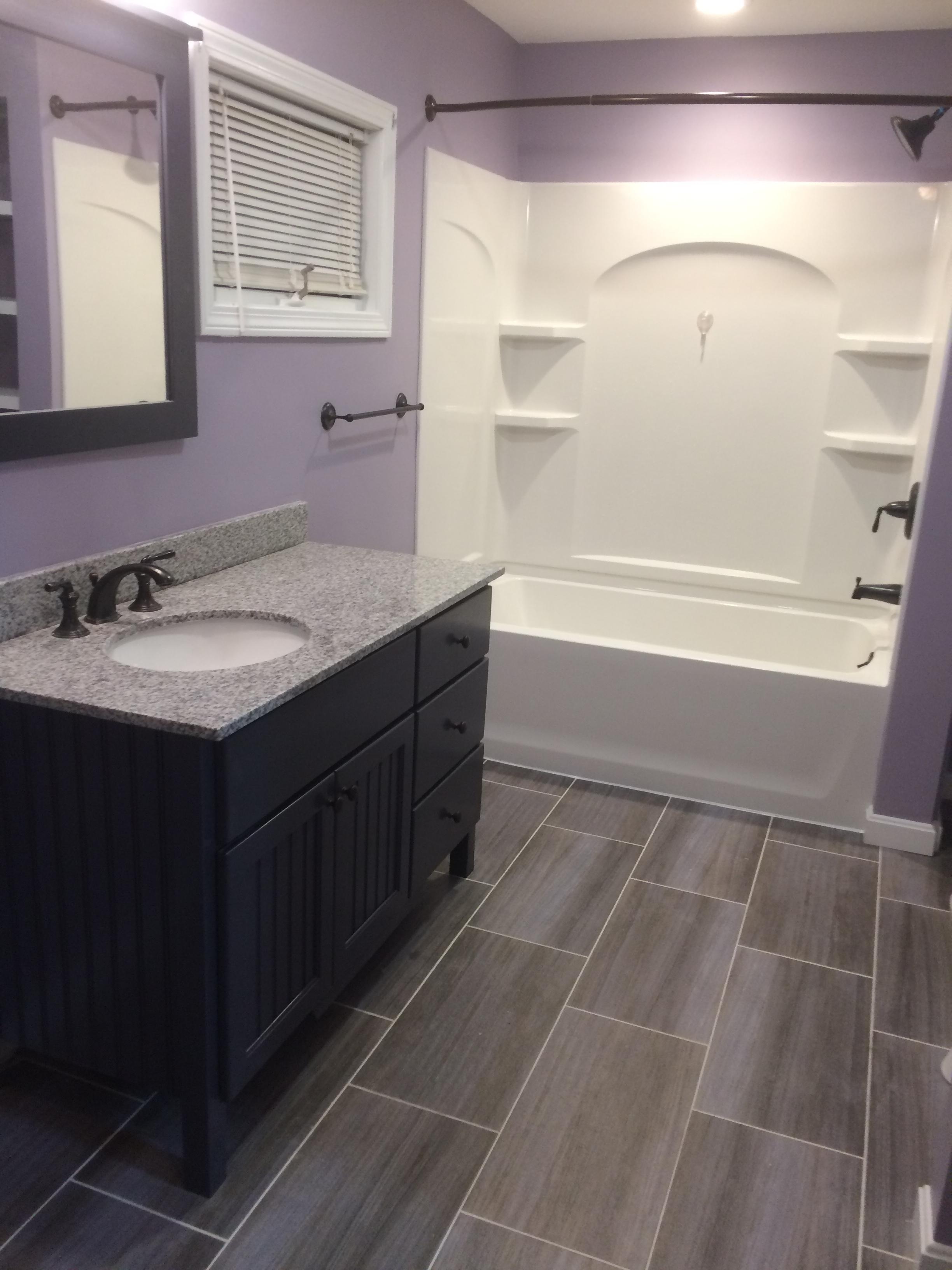Basic Bathroom Remodel  NH Bath Builders