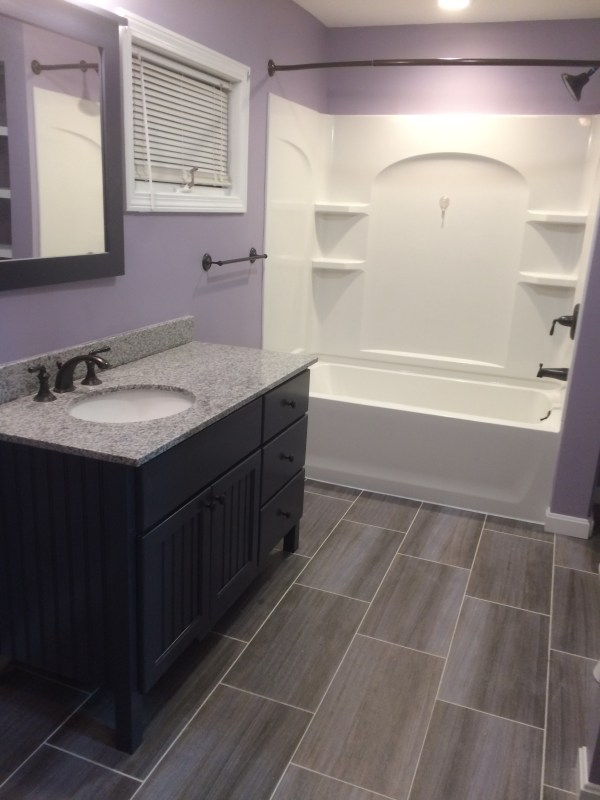 Basic Bathroom Remodel
