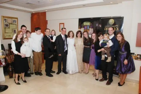 Rabbi Ze'ev Smason's Family