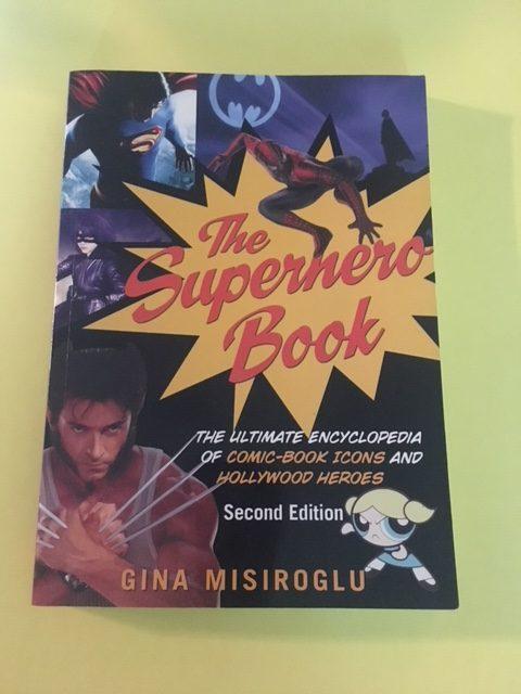 Superhero Book