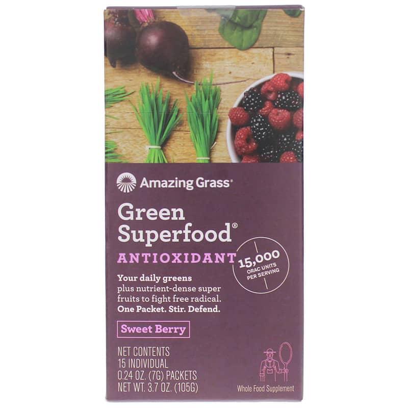 green superfood antioxidant sweet