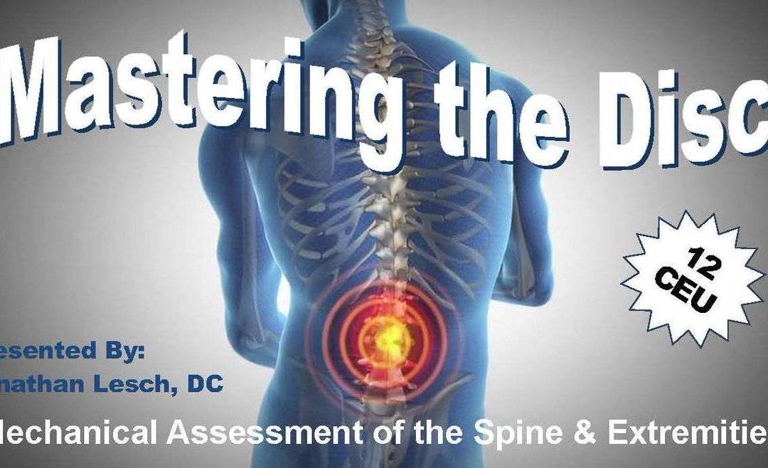 Mastering The Disc New Hampshire Chiropractic Association