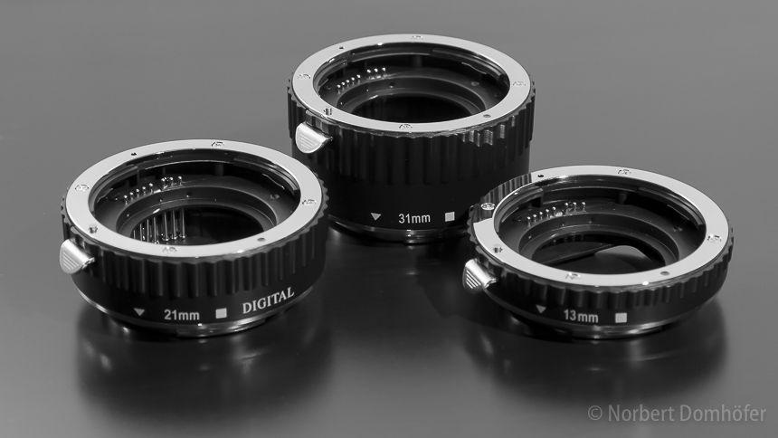 Automatik Zwischenringe für Makrofotografie
