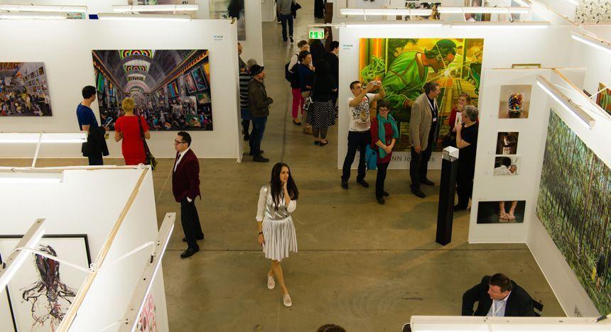 Kölner Liste - Exhibition view 2015