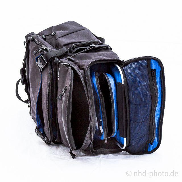 Burton Focus Pack - offene obere Taschen