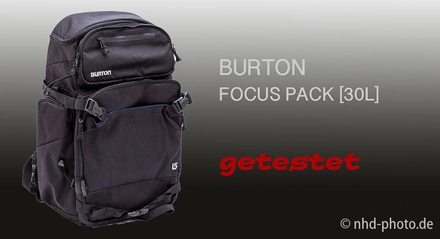 BURTON FOCUS PACK - TEST