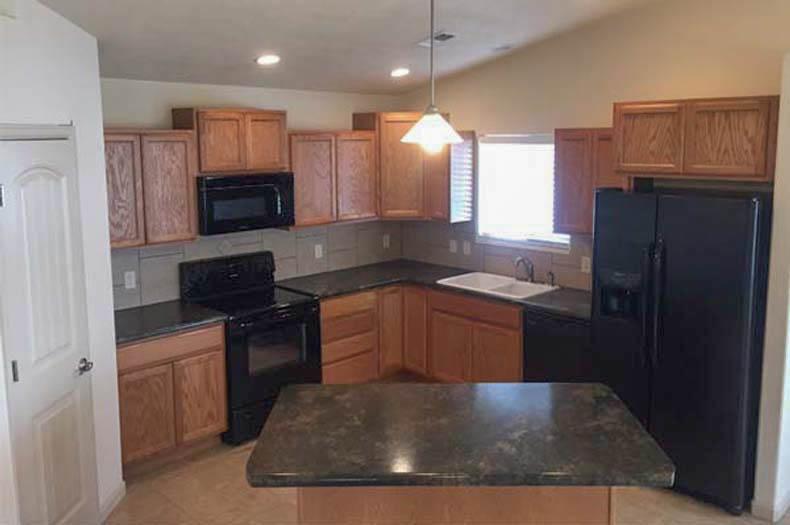 172 winter hawk kitchen includes all appliances