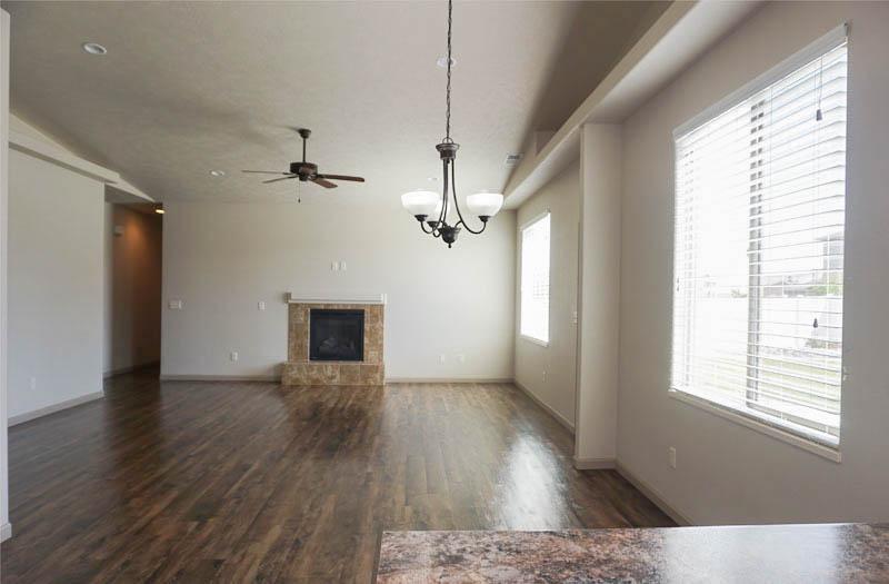 Living Room & Dining Room in 170 Night Hawk