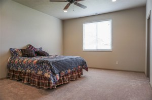 Master Bedroom with queen sized bed in 170 Night Hawk Drive