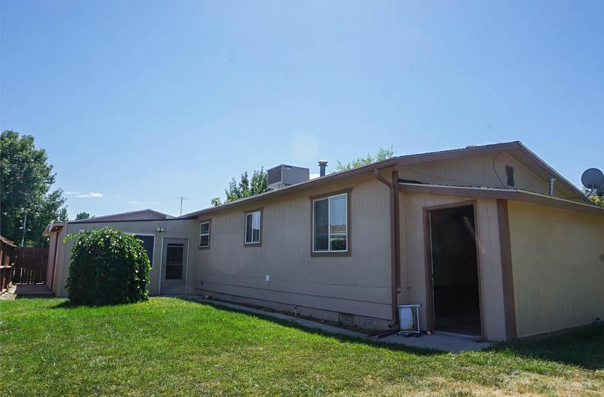 Backyard & Storage shed at 3078 Colorado Avenue