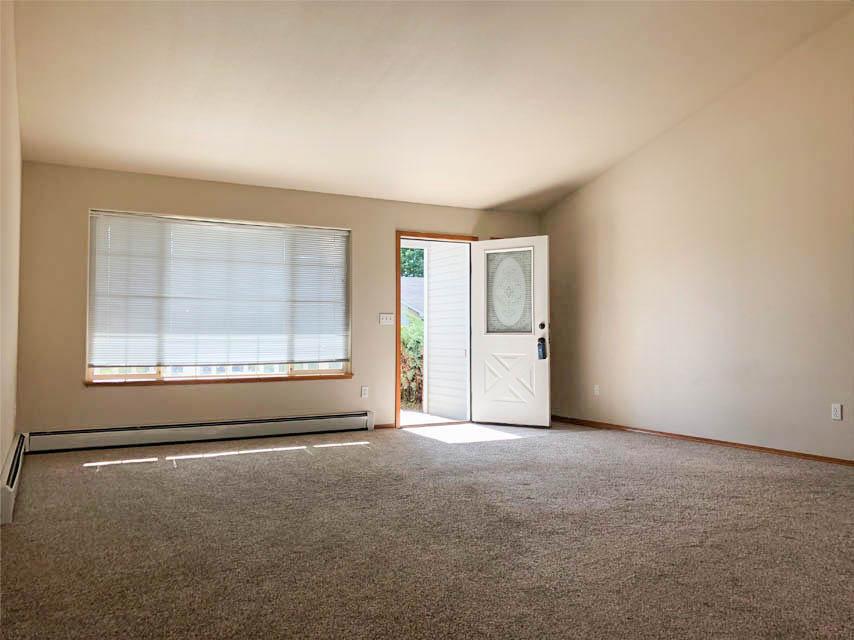 Living room & front door at 653 Fenton
