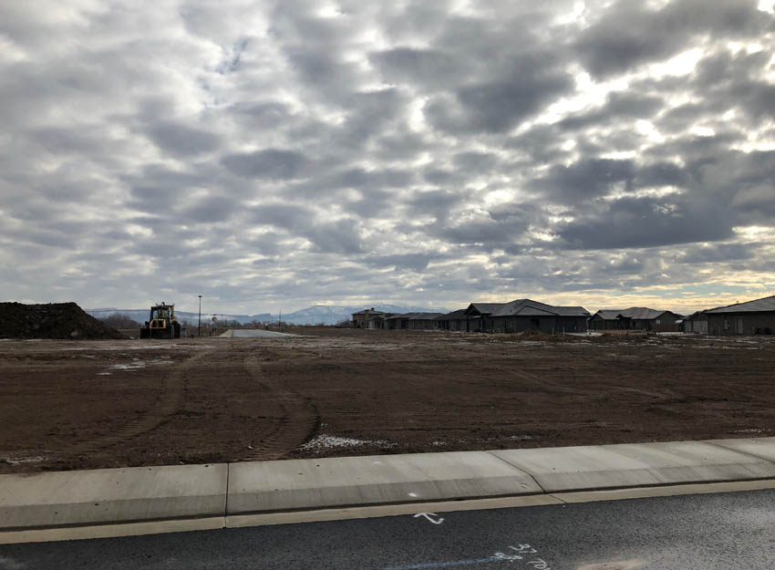 1298 Fairway Dr, a .31 acre vacant building lot in Adobe Falls in Fruita, CO.