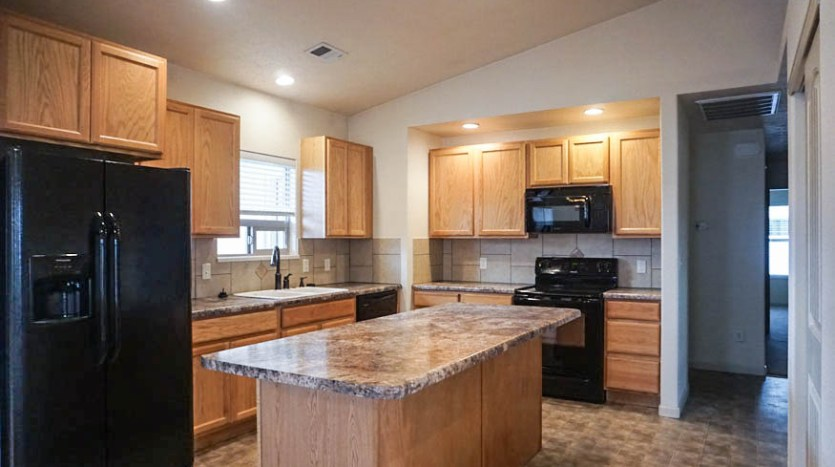 The Kitchen of 175 Winter Hawk includes all appliances, and island, and pantry.