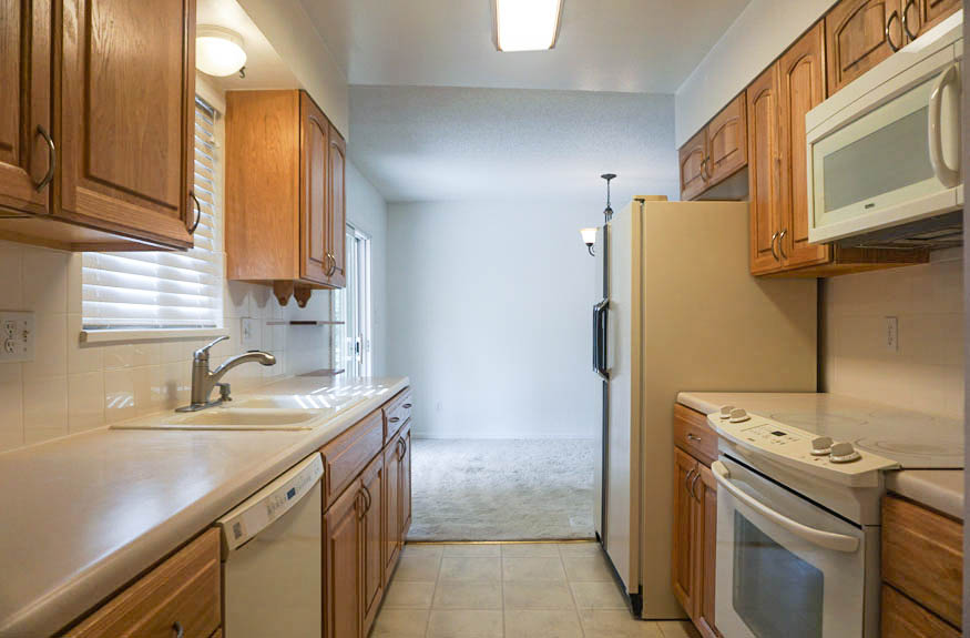 The kitchen of 535 Oriole includes the appliances